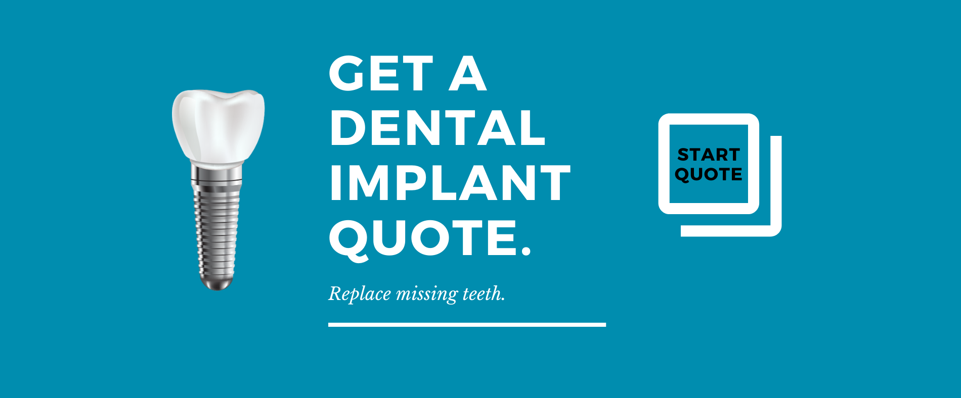 Copy of DENTAL IMPLANTS $3,999_